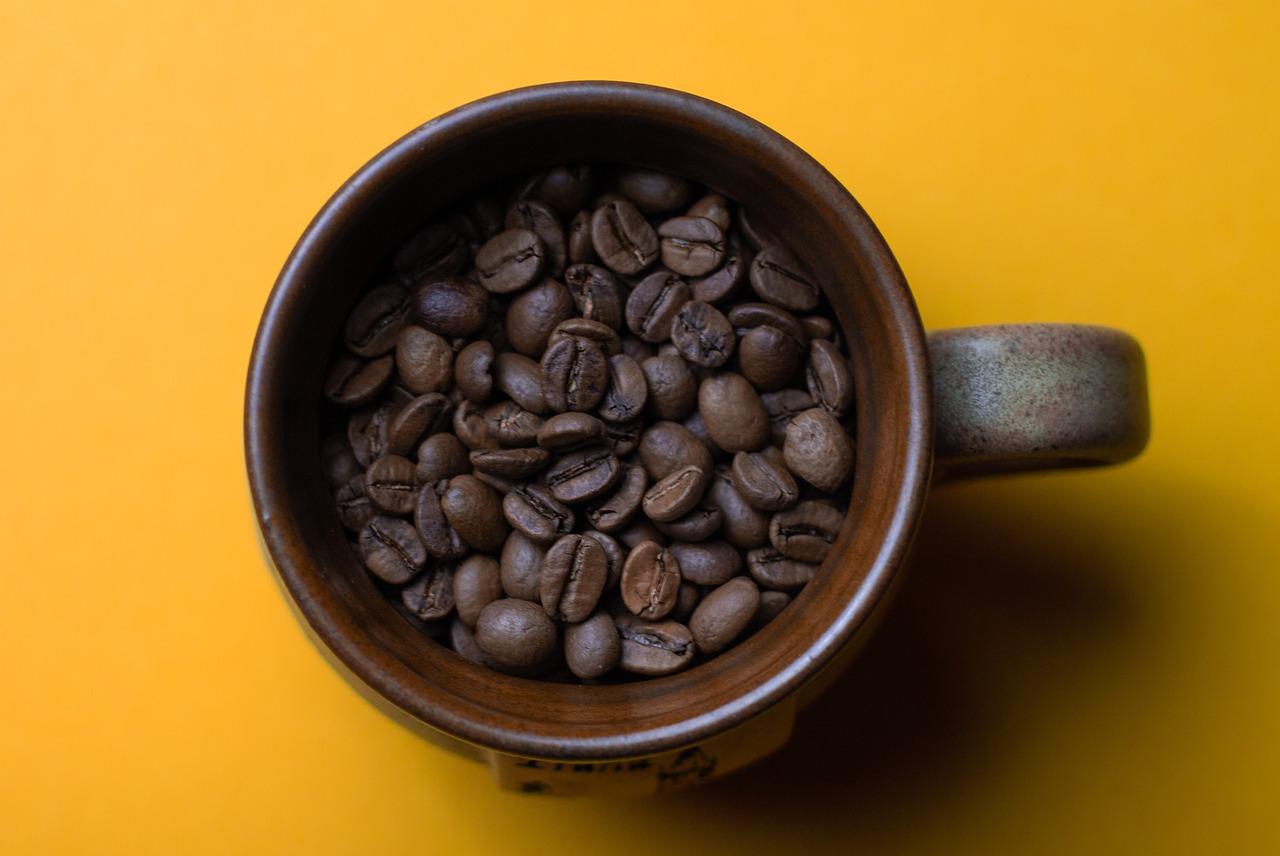 zielona herbata, kawa